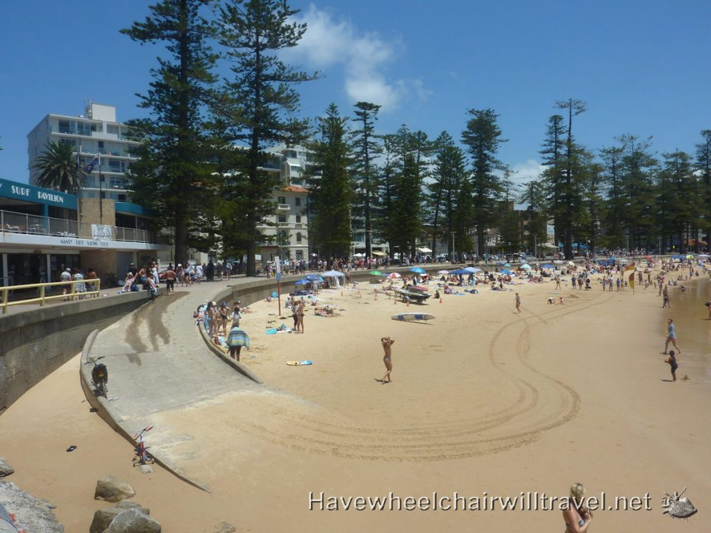 Manly Beach - wheelchair accessible Sydney